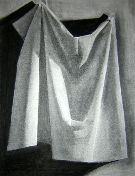 drapery drawing drapery drawing seeing light and shadow drhsart