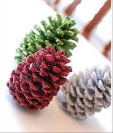 Pine Cone Christmas Crafts Ideas