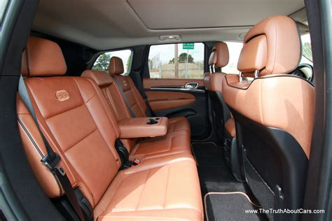 jeep summit interior review 2013 jeep grand cherokee overland summit the