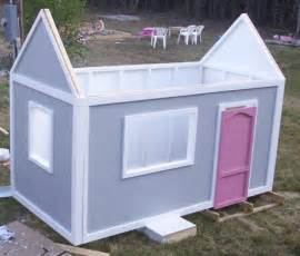 Diy Playhouse Plans Ana White Playhouse Back Wall Diy Projects