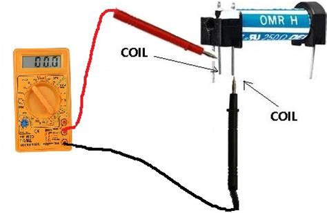how do you test a resistor how to test the coil of a relay