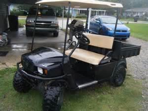 golf cart with bed ez go gas golf cart w dump bed louisiana sportsman