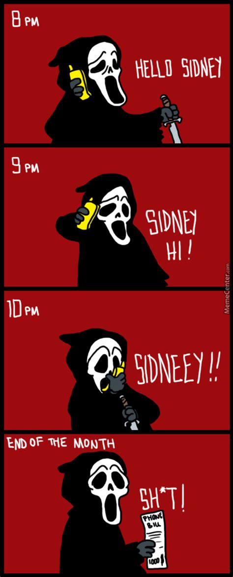 Scream Meme - ghostface memes best collection of funny ghostface pictures