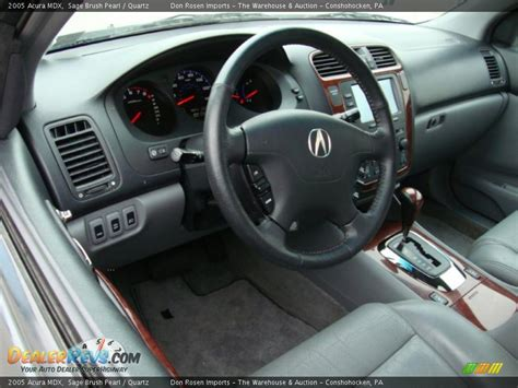 Acura Mdx 2005 Interior by Quartz Interior 2005 Acura Mdx Photo 12 Dealerrevs