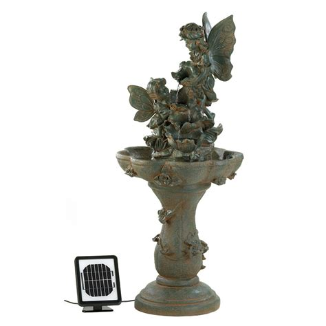 home decor water fountains fairy solar water fountain wholesale at koehler home decor