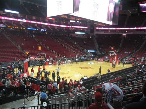 section 125 toyota center toyota center section 111 houston rockets