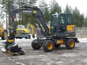 Volvo Construction Equipment Sweden Volvo Ew60e Sweden 130 994 2016 Wheeled Excavators