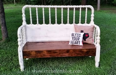 texas bench curb alert quot bless your heart quot texas headboard bench