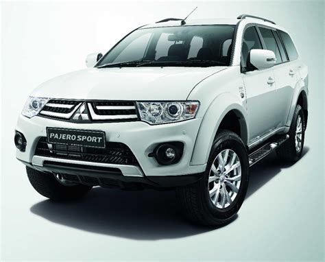 mitsubishi pajero sport 2014 mitsubishi pajero sport vgt gl enhanced introduced in