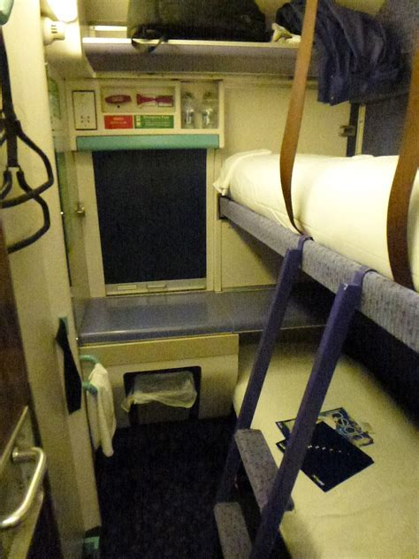 Caledonian Sleeper Berth by Efficient Travel From Melsksham To Edinburgh By Sleeper