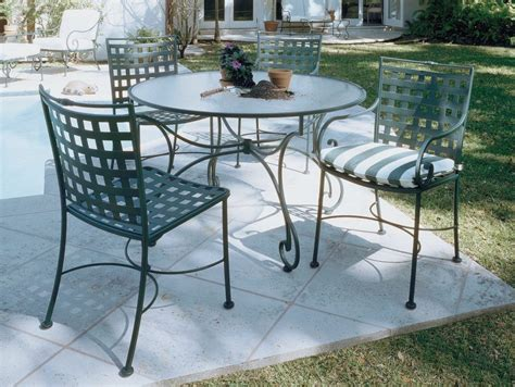 Furniture How To Paint Wrought Iron Patio Furniture Used Wrought Iron Patio Furniture