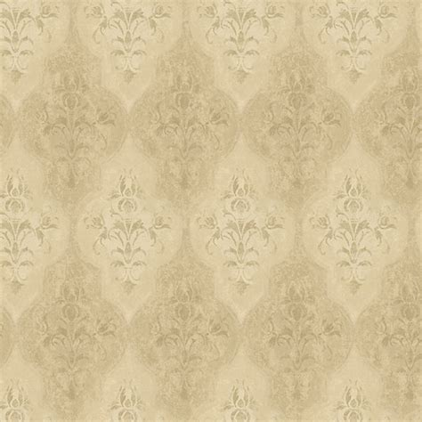 metallic gold moroccan damask wallpaper