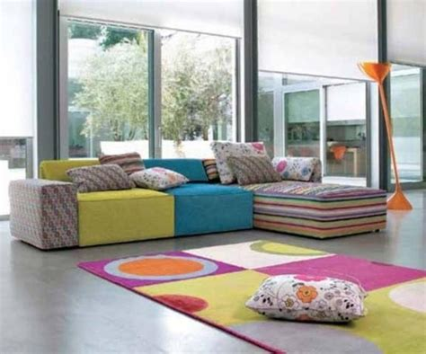 colorful sofas perk up the living room with 15 colorful sofa ideas rilane