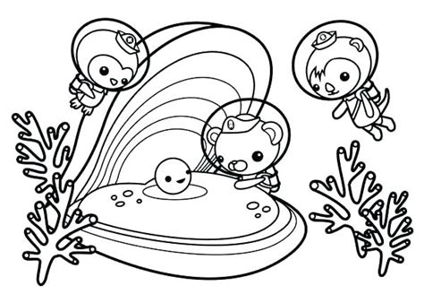 Gup X Coloring Page by Coloring Pages Octonauts Hotellospinos Info