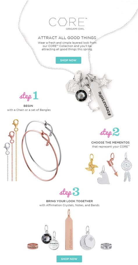 Origami Owl Success Stories - layers on layers fresh new looks with origami owl