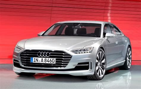 Audi A8 Bilder by 2017 Audi A8 First Look Photos