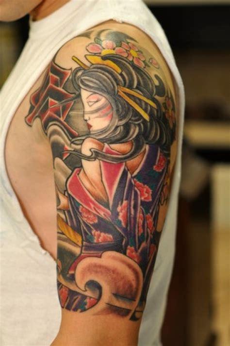 geisha tattoo book best geisha tattoo design on shoulder tattoos book 65