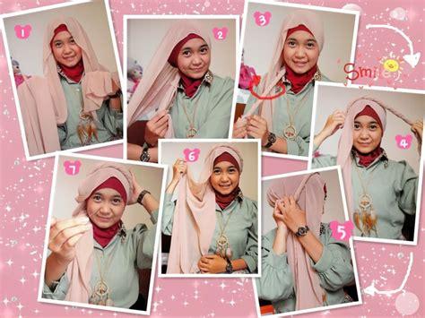 memakai jilbab ala turban tutorial hijab