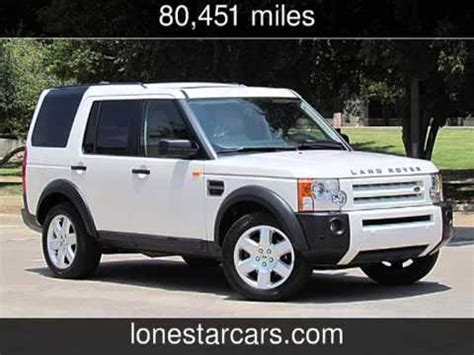 car manuals free online 2008 land rover lr3 instrument cluster 2008 land rover lr3 hse used cars plano texas 2013 07