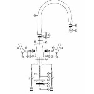 Modern Taps For Kitchen - fluid monobloc at1169 from tap spares com