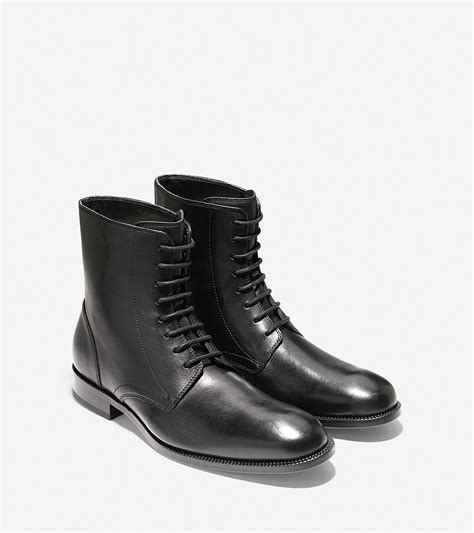cole haan williams boot cole haan williams dress boot in black for lyst