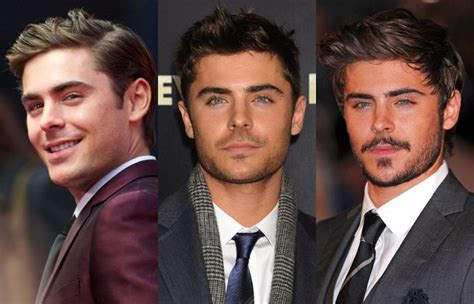 Vs Meska Gamis zac efron clean shaven and with a beard