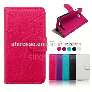 new product phone cases leather flip cover for acer