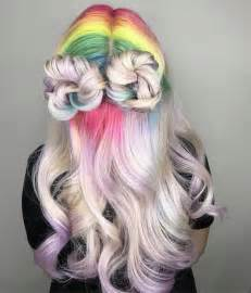 unicorn hair color unicorn hair trend is a fantastical way to celebrate the
