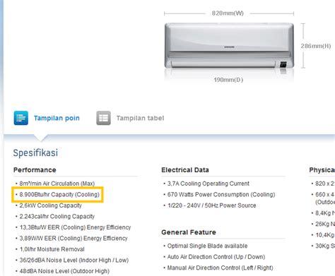 Ac Panasonic Untuk Kamar memilih ukuran penyejuk ruangan air conditioner yang