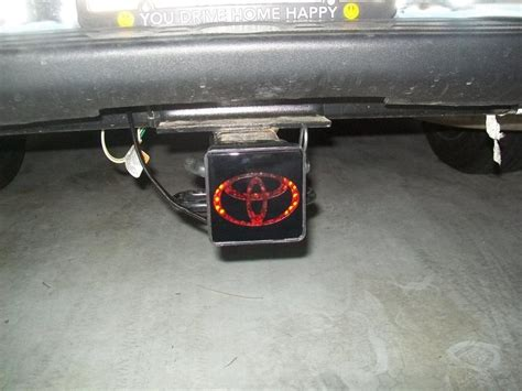 toyota light cover lighted hitch cover toyota