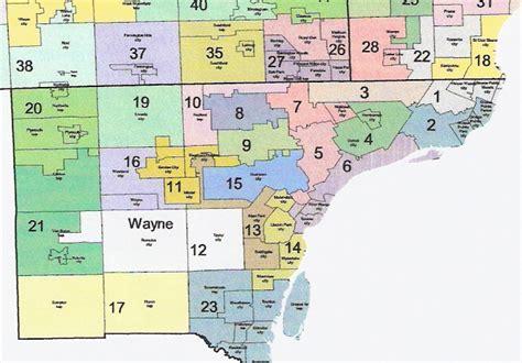 Wayne County Michigan Search Wayne County Michigan Map Michigan Map