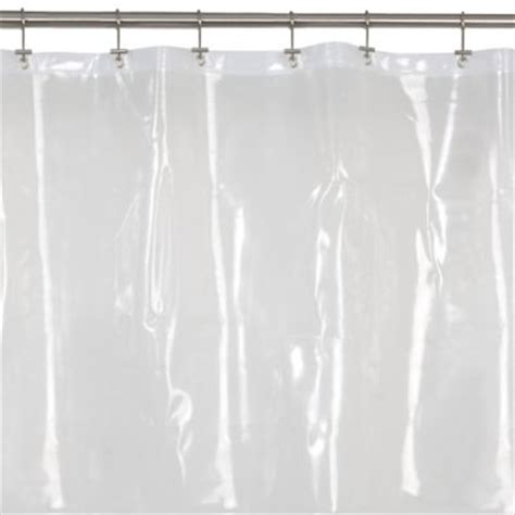 clear curtain buy clear shower curtains from bed bath beyond
