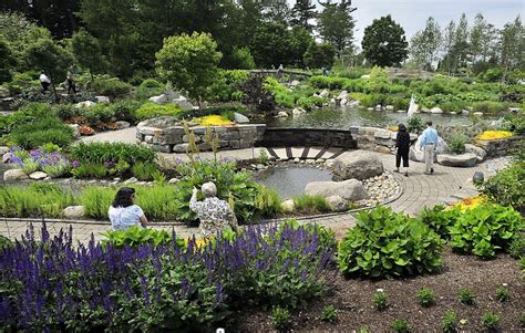 Botanical Gardens Boothbay Maine Plan To Expand Boothbay Gardens Slammed As Disneyland Ambition By Some Locals Portland Press