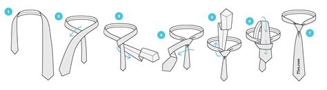 printable directions how to tie a tie how to tie a four in hand knot ties com