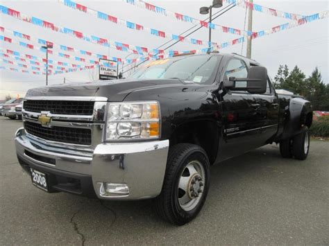 electric power steering 2008 chevrolet silverado 2500 seat position control used 2008 chev silverado 3500 hd diesel crew cab 4x4 dually ltz in parksville outside comox