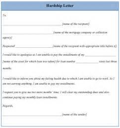 hardship letter template letter template for hardship template of hardship letter
