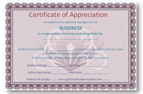 30 free certificate of appreciation templates and letters nigeria