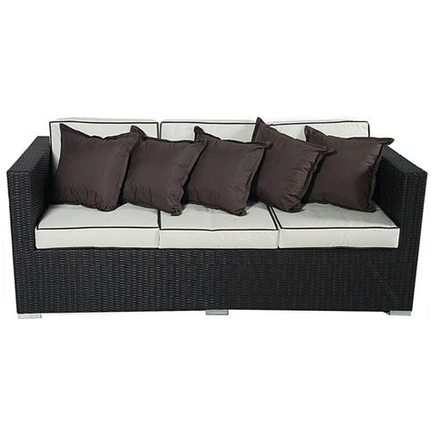 seville sofa seville sofa set with parasol rattan wicker garden patio