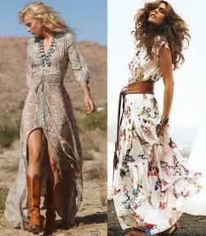 Superb Empire Waist Wedding Dress #4: Boho-inspired-long-maxi-summer-dresses.jpg