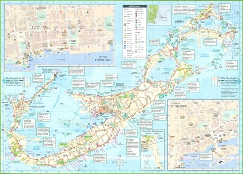 printable road map of bermuda printable map of bermuda bing images