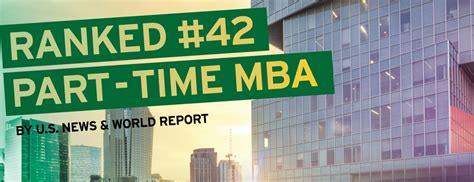 Unc Ranking Mba by U S News Ranks Unc S Part Time Mba 42