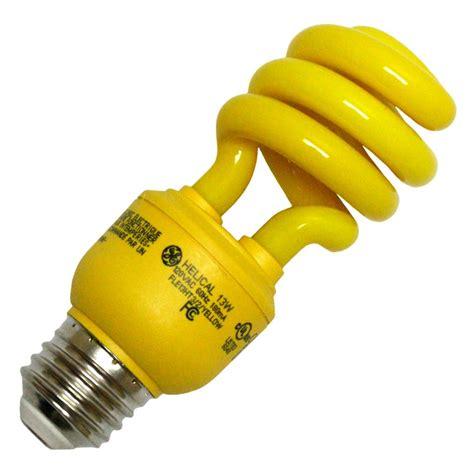 yellow bug light bulbs ge 78959 fle13ht3 2 yellow bug light elightbulbs com