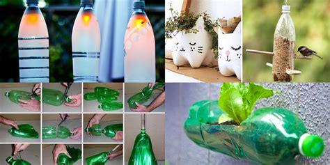 vasi con bottiglie plastica 10 modi divertenti per riciclare le bottiglie di plastica