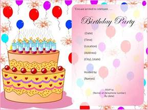 birthday invitations ideas