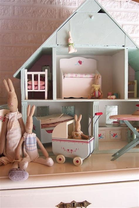 bunny doll house meet de konijnenfamilie maileg
