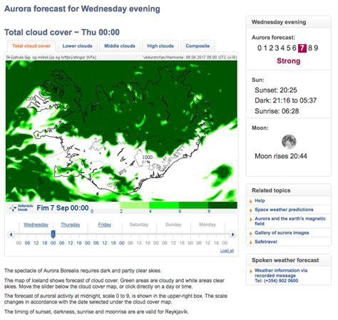 northern lights prediction iceland iceland northern lights tours borealis
