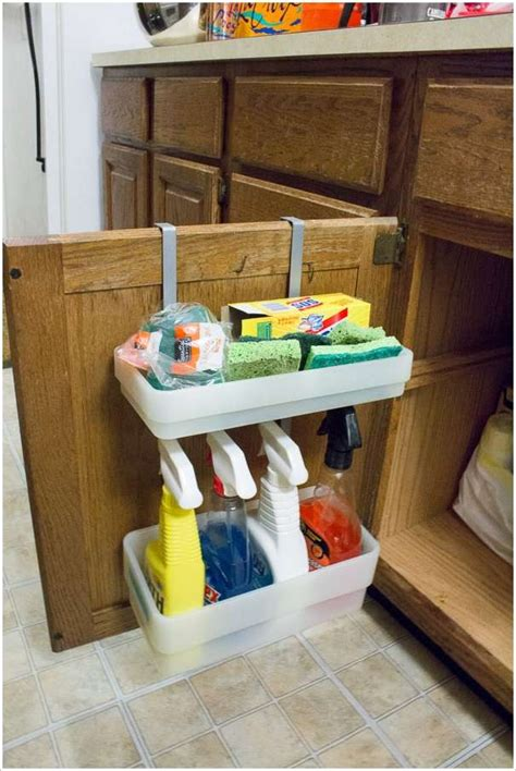 clever ideas  organize   kitchen cabinets