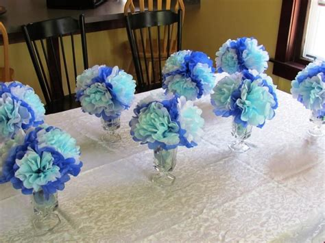 Easy Baby Shower Ideas by Simple Baby Shower Centerpieces Decoration Ideas