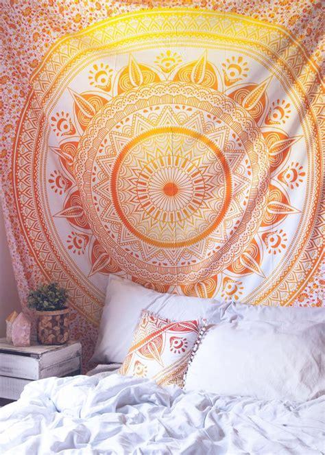 Orange Yellow Bedroom by Best 25 Orange Bedroom Decor Ideas On Boho