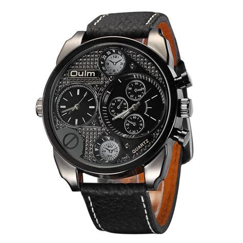 aliexpress buy oulm mens designer watches luxury